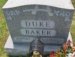 Kathleen E Kathy <i>Duke</i> Baker
