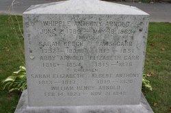 Whipple Anthony Arnold