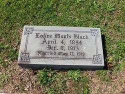 Eoline Inez <i>Mounts</i> Black