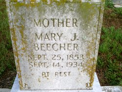 Mary Jane <i>Phillips</i> Beecher