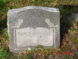 Nancy Jane <i>Ivey</i> Rogers