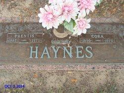 Cora Lee <i>Brummett</i> Haynes