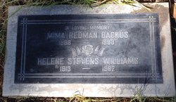 Gemima Mima <i>Redman</i> Backus