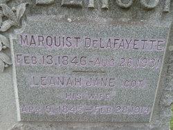 Leanah Jane Cot <i>Moore</i> Benson