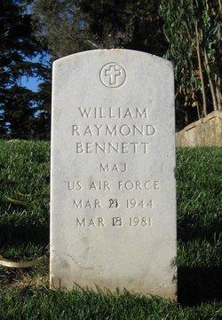 Maj William Raymond Bennett