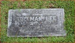 Coleman Littleton Lee