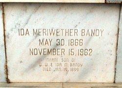 Ida May <i>Meriwether</i> Bandy