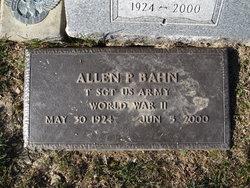 Sgt Allen P Bahn