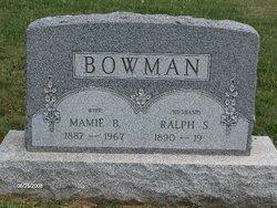 Mamie B. <i>Walker</i> Bowman