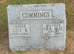Ora Mae <i>Caldwell</i> Cummings