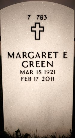 Margaret <i>Ellis</i> Green