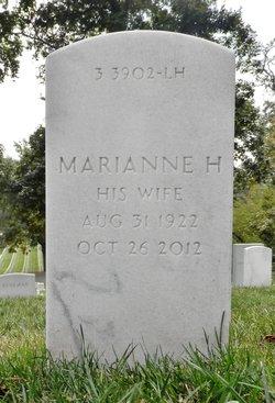 Marianne H <i>O'Donoghue</i> Aaron