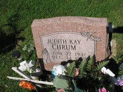 Judith Kay <i>Morlan</i> Chrum