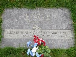 Elizabeth Ann Betty <i>Lake</i> Egge