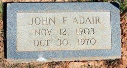 John F Adair
