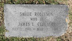 Sallie <i>Robinson</i> Clouatre