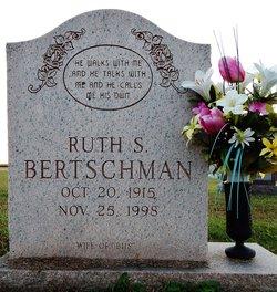 Ruth <i>Sanders</i> Bertschman