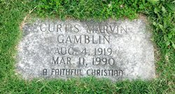 Curtis Marvin Gamblin