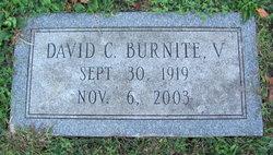 Rev David Clark Burnite, V