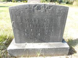 Martha A <i>Hurd</i> Lovelace