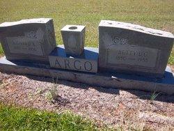Betty Elizabeth <i>Cromer</i> Argo
