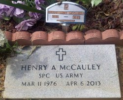 Henry Andrew Andy McCauley