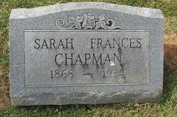 Sarah Frances <i>Logsdon</i> Chapman
