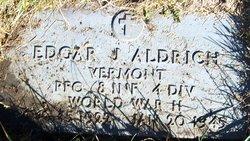 PFC Edgar J Aldrich