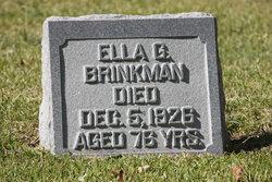 Ella G <i>Randle</i> Brinkman