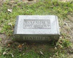 Sarah E. <i>(Cox)</i> Barber