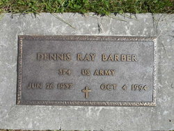 Dennis Ray Barber