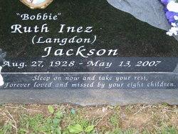 Ruth Inez Bobbie <i>Langdon</i> Jackson