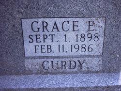 Grace Emily <i>Pavey</i> Curdy