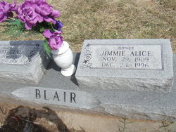 Jimmie A. <i>Thrower</i> Blair