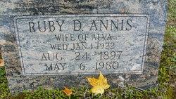 Ruby Diane <i>Wilkinson</i> Annis