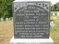 Abigail <i>Barnes</i> Sperry