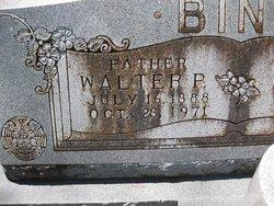Walter P Binz