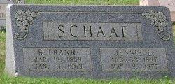 Benjamin Frank Schaaf