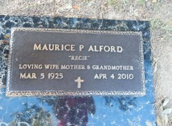 Maurice P. Recie <i>Thomason</i> Alford