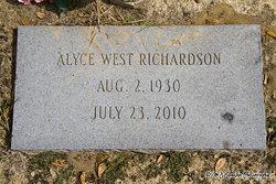 Alyce <i>West</i> Richardson