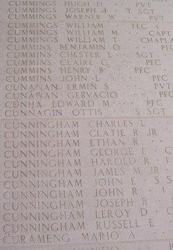 SSgt John E Cunningham