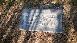 Dolly Maude <i>Giles</i> Fowler