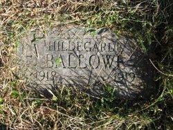 Rosa Hildegarde Ballowe