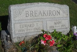 Mary P. <i>Van Sickle</i> Breakiron