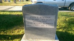 June Mary <i>Cole</i> Bowman