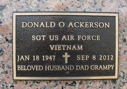 Donald O Ackerson
