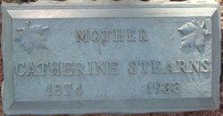Catharine Marie <i>Barner</i> Stearns