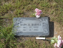 Mary A. <i>King</i> Barnes