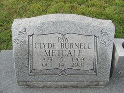 Clyde Burnell Metcalf