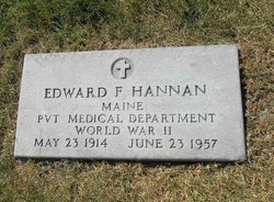 Pvt Edward Fred Hannan